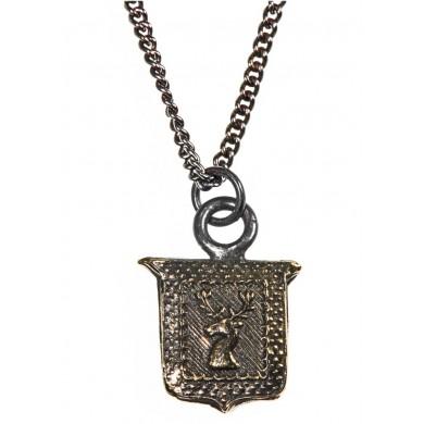 Anhaenger Kette aus Bronze und Silber von Pyrrha