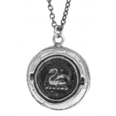 Swan Talisman Halskette Pyrrha