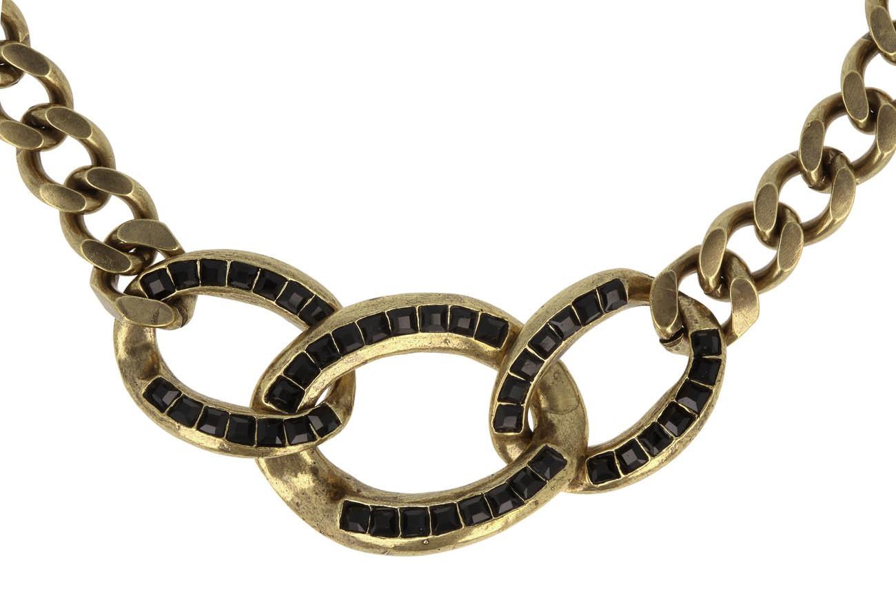 Jean Paul Gaultier Gourmette Halskette Designerschmuck online kaufen