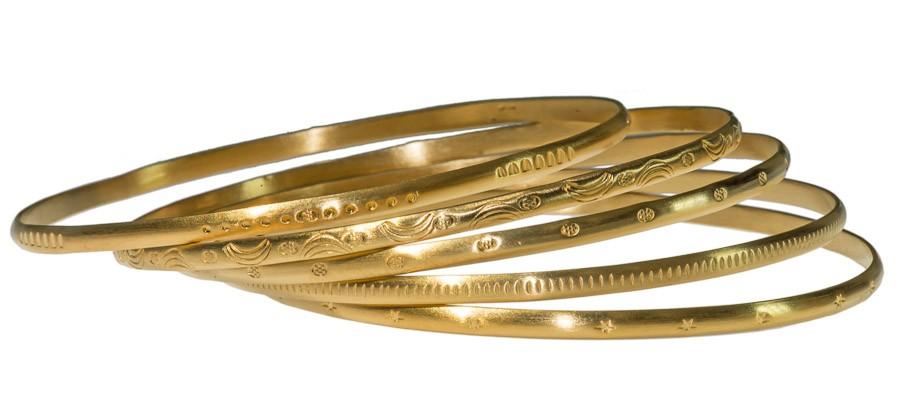 armreif gold dünn