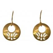 Mini Lotus Ohrringe