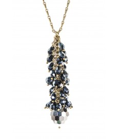 Aris Geldis Halskette mit Swarovski Kristallen