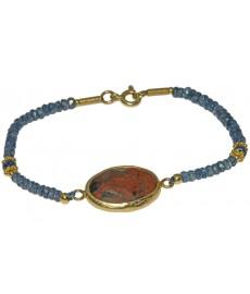 Lolit Armband mit Jaspis von Augustkinder