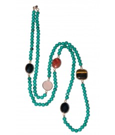 Türkis Halskette von Augustkinder