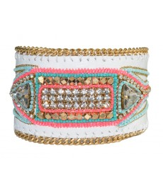Buba London Armband in weiß
