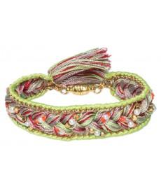 Buba Armband mit grünen Farben