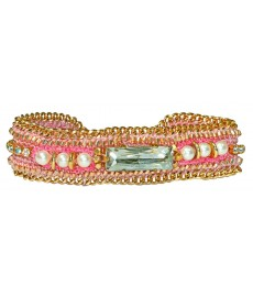 Armband von Buba London in Pink