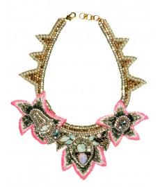 Buba London Collier als Halskette mit Blüten