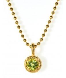 Halskette mit grünen Peridot von Catherine Weitzman