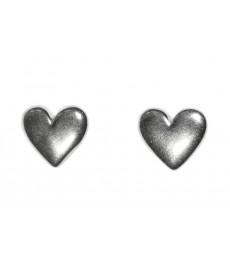 Stecker aus Silber mit Herz Motiv von Catherine Weitzman