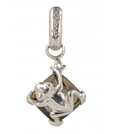 Frosch Anhaenger aus Silber von Chilango