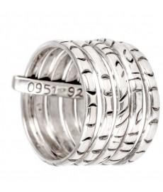 Jalan Jalan Mehrfach Ring aus Silber
