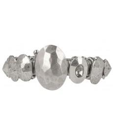 Jean Paul Gaultier Armband in Silber mit Swarovski Stein