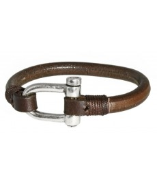 Herrenarmband von Numero3 aus Leder