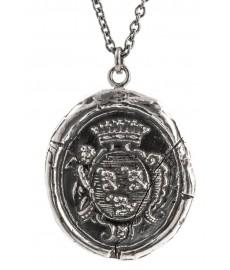 Engel Anhaenger mit Halskette von Pyrrha