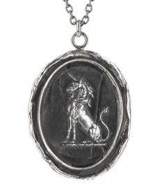 Einhorn Anhänger mit Halskette von Pyrrha