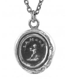 Pyrrha Halskette mit Herz bei Augustkinder