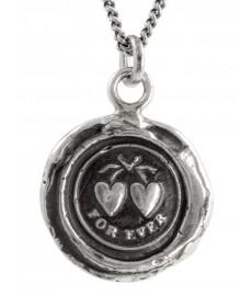 Herz Anhaenger in Silber mit Gravur