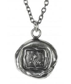 Pyrrha Talisman Kette mit Anhänger aus Silber