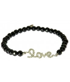 Onyx-Love Armband