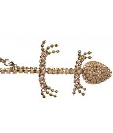 Champagner Salamander Hand-Armband
