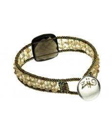 Ziio Armband mit Citrin Steinen