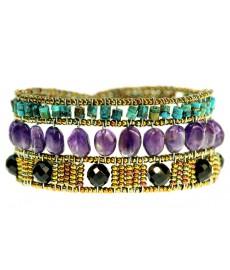 Ziio Armband mit Edelsteinen