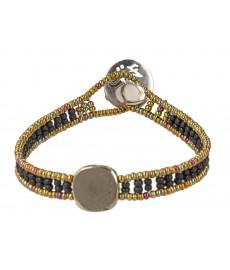 Ziio Armband für Herren mit Pyrit Stein