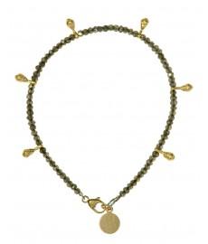 Armband mit Labradorit von Catherine Weitzman aus New York
