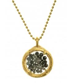 Halskette mit Onyx Steinen von Catherine Weitzman