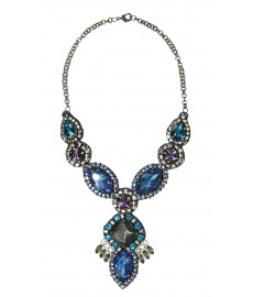 Deepa Gurnani Halskette in Blau