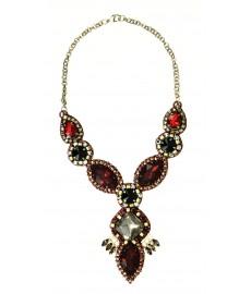 Deepa Gurnani Halskette in Rot