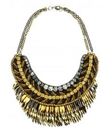 Deepa Gurnani Halskette in Gold