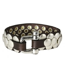 Numero3 Herrenarmband in Leder
