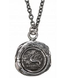 Drachenkette als Herrenschmuck in Silber