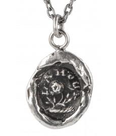 Love Anhaenger in Silber mit Kette von Pyrrha