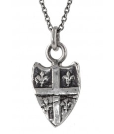 Petite Fleuer De Lys Shield als Talisman von Pyrrha